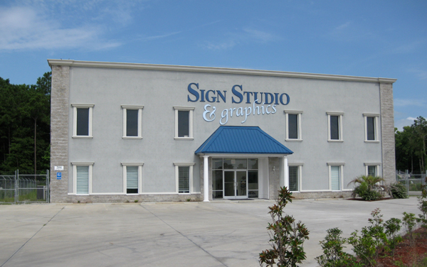 Sign Studio & Graphics Building